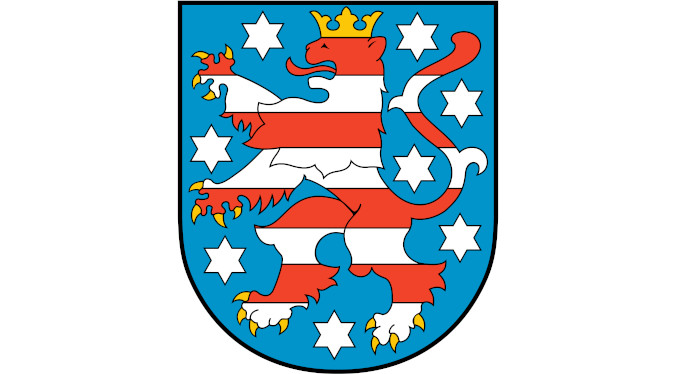 Radonvorsorgegebiete in Thüringen