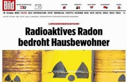 Bild.de - Ist Radon das neue Asbest?