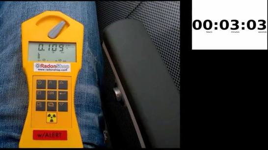 Gamma Scout Alarm - Messung Höhenstrahlung