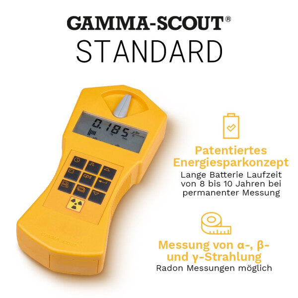 Gamma-Scout STANDARD - Geiger counter radiation detector
