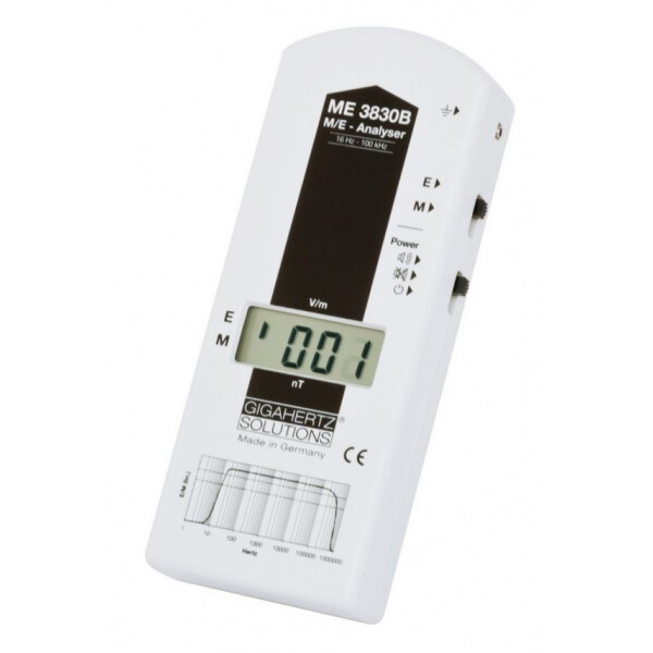 LF Gigahertz-Solutions ME3830B EMF meter for low frequency electrosmog