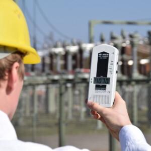 Electrosmog Device - measure electrosmog: with electromagnetic instr