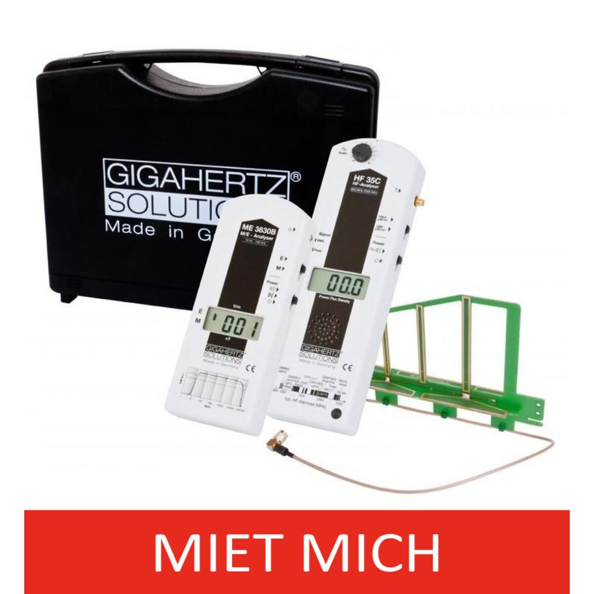 hf nf gigahertz solutions elektrosmog messkoffer mk20 g nstig miete 70 00. Black Bedroom Furniture Sets. Home Design Ideas