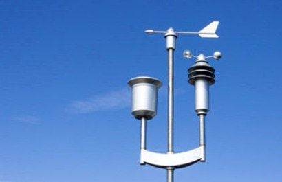 wetterstation misst radiokative teilchen in der luft